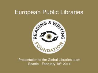 European Public Libraries