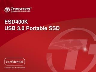 ESD400K USB  3.0  Portable SSD