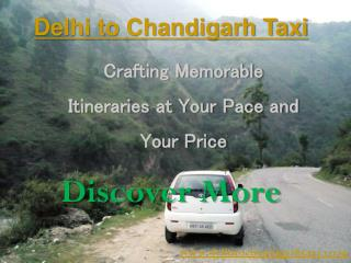 Tempo Traveller Delhi to Chandigarh - Delhi to Chandigar Taxi