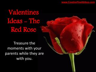 Valentines Ideas - The Red Rose