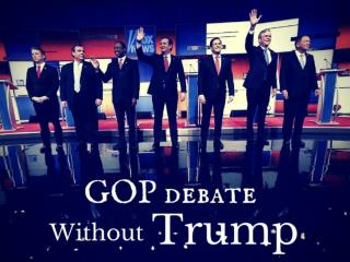 GOP debate without Trump
