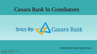 MICR code for Canara Bank In Coimbatore
