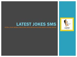Latest Jokes SMS