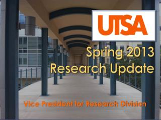 Spring 2013 Research Update