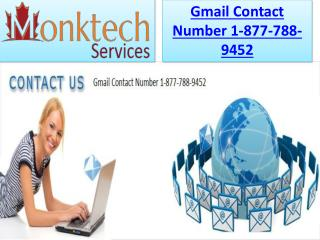 Toll free gmail contact number 1 877 788 9452