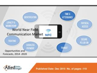 World Near Field Communication Market - Opportunities and Forecasts, 2014 - 2020