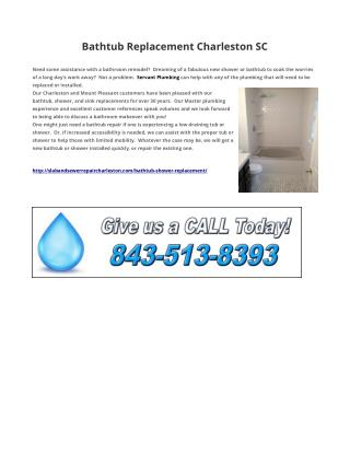 Bathtub Replacement Charleston SC