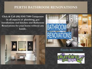 Ensuite Renovations