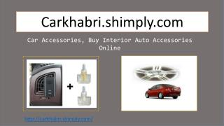 Purchase latest Car Accessories Online at Cheap Rates