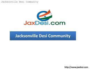 JaxDesi – Jacksonville Desi Community