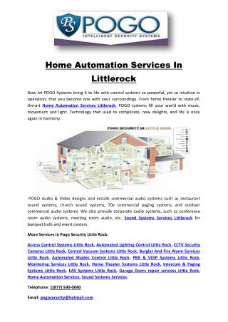 Home Automation Services In Littlerock