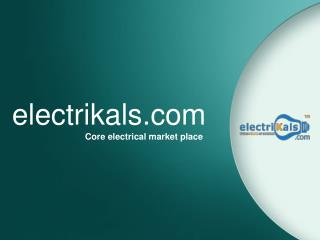 Buy ISOLATORS online @ electrikals.com