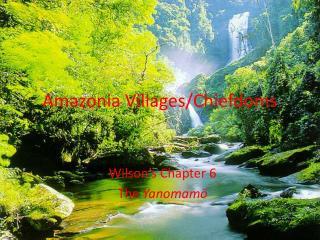 Amazonia Villages
