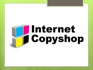 Alle Uw Print Shop behoeften End hier-internet-copyshop.nl