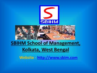Hotel Management College In West Bengal | sbihm