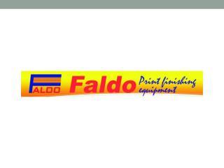 Faldo - Der Branchenführer mit dem besten Falzmaschine