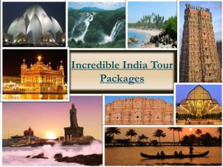 Incredible India Tour Packages offers at FlywithAJ Travels