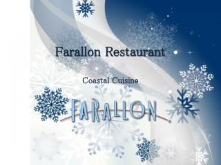 Farallon Restaurant San Francisco - Classic Seafood, Raw & Oyster Bar, Coastal Cuisine