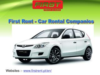 First Rent - Car Rental Companies