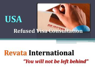 Visa Refusal or Rejected Visa Consultant