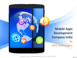 Mobile Development Company India - iPhone, Android