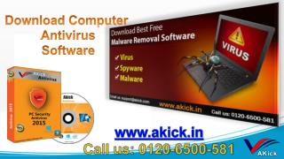 Akick - Free Best Computer Antivirus Software 2016