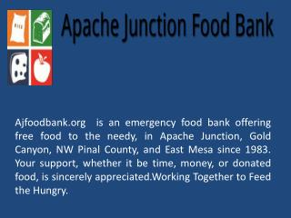 Apache Junction Food Bank