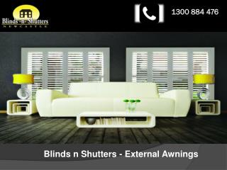 Blinds-n-Shutters - External Awnings