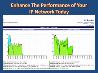Enhance The Performance of Your IP Network Today