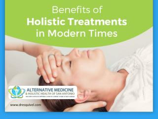 Benefits of Holistic Healing in San Antonio