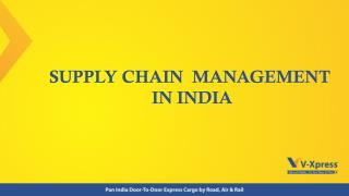 Supply Chain Management (SCM) - Vxpress