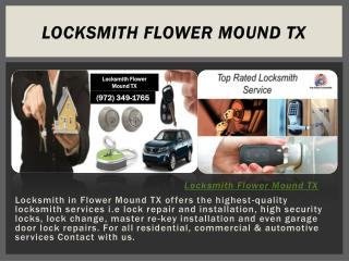Locksmith Flower Mound TX