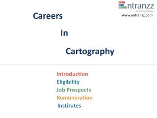Careers In Cartography