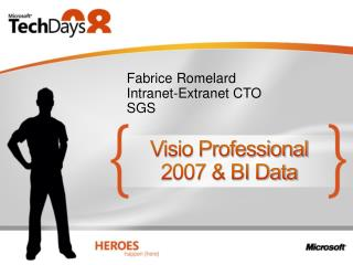 Visio Professional 2007  BI Data