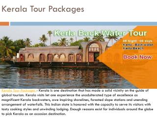 Kerala Tour Package - Awesome Nature