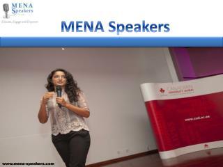 MENA Speakers
