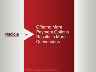 Offering More Payment Options Results in More Conversions