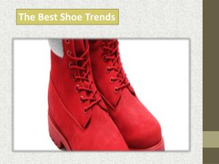 The Best Shoe Trends
