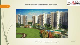 Book Homes at Ajnara Le Garden Noida Extension