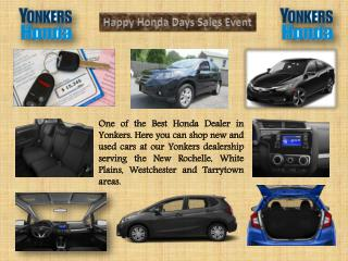 One of the Best Honda Car Dealer in Yonkers NY