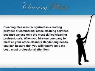 Office Cleaning Glen Waverley