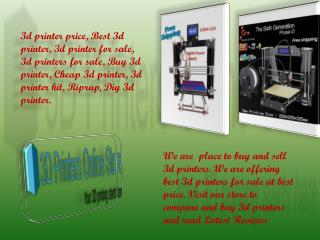 3D Printers for Sale at Best Prices