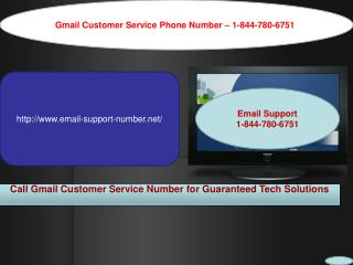 Gmail Customer Care Number - 1-844-780-6751 for Password Recovery