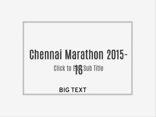 Chennai Marathon 2015-16