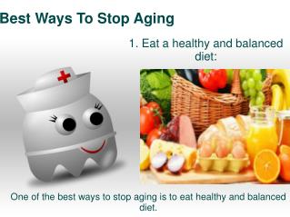 Best Ways To Stop Aging