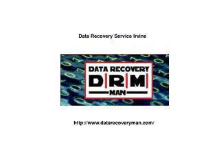 Data Recovery Service Irvine