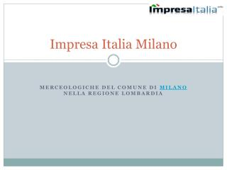 Impresa Italia Milano