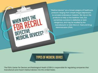 when does the fda recall defective medical devices