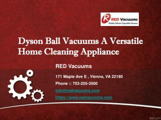 Dyson Ball Vacuums A Versatile Home Cleaning Appliance