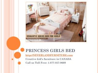 Princess Girls Bed From Neverland Furniture in Canada
